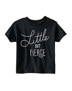 Little But Fierce by Rinee Shah Adult Tee