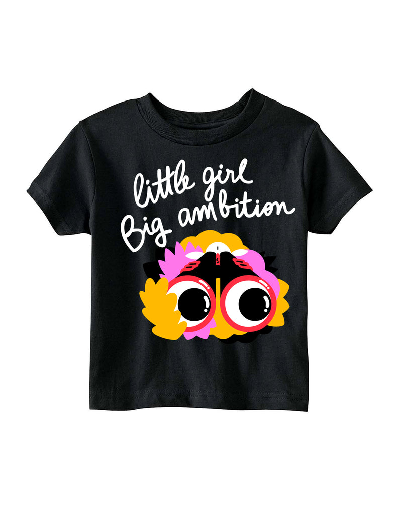 Little Girl, Big Ambition by Marylou Faure (black)