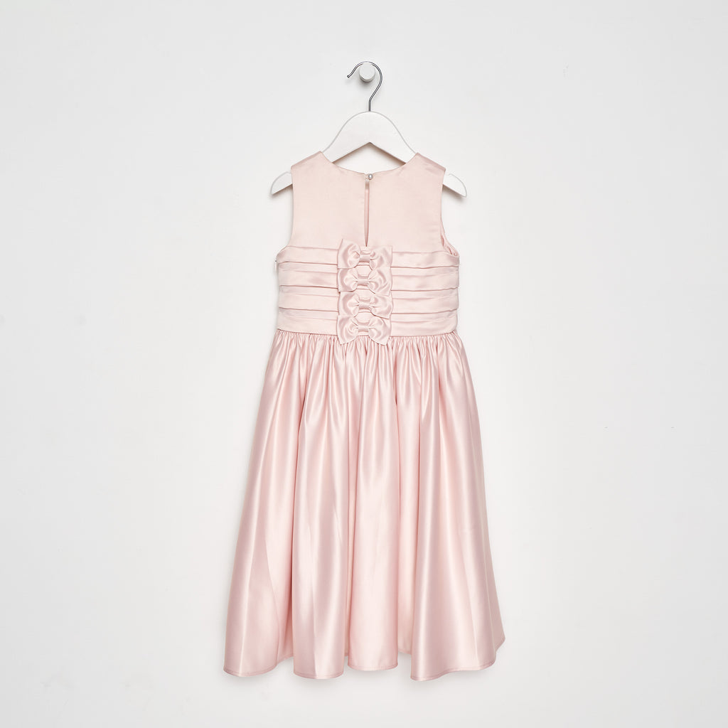 Gracie Pleat Bodice Dress