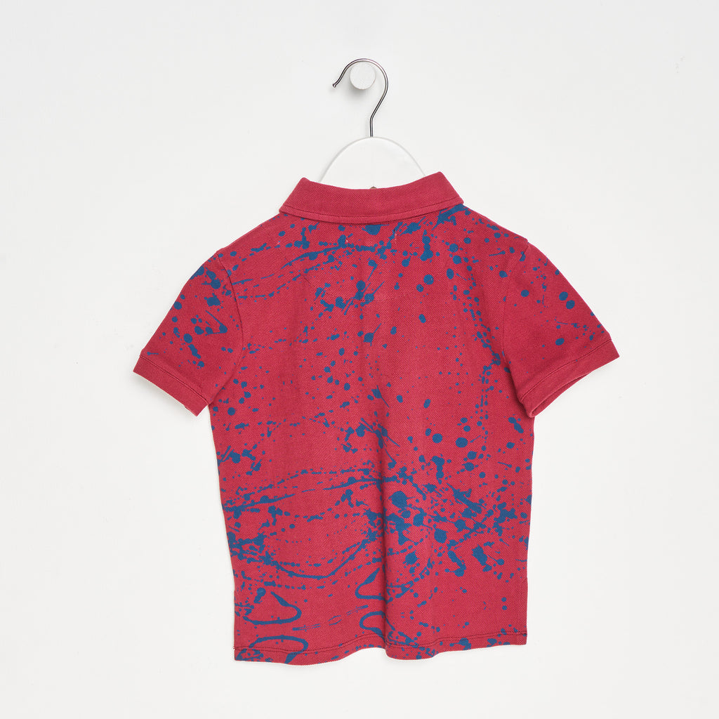 Fred Paint Splatter Polo