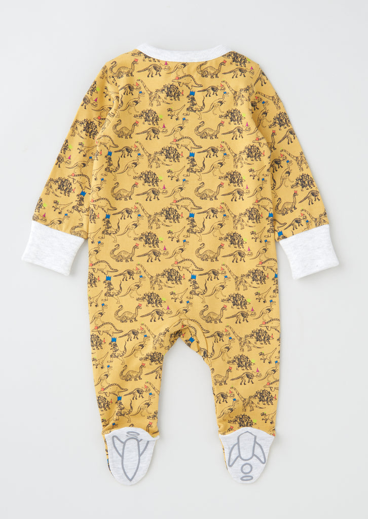Ralphie Dinosaur Print All in one With Hat