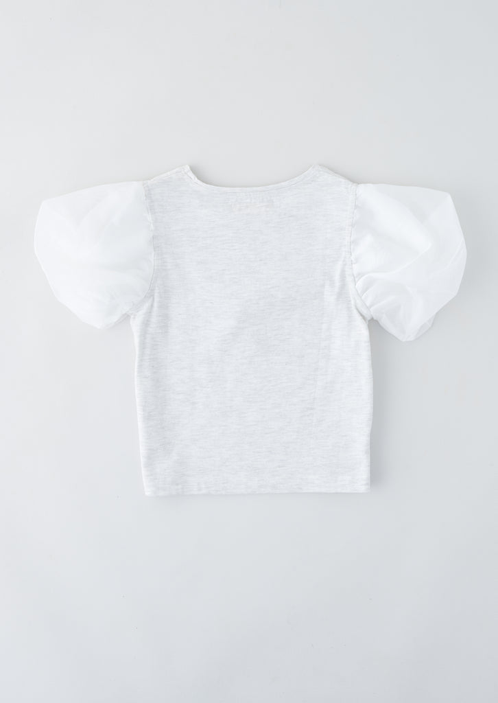 Harlow Girl Icon Puff Sleeve Tee