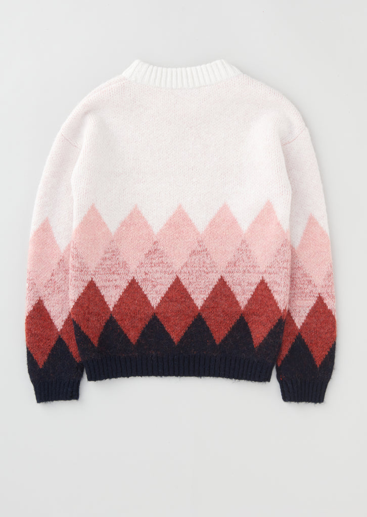 Naomi Diamond Knit Jumper