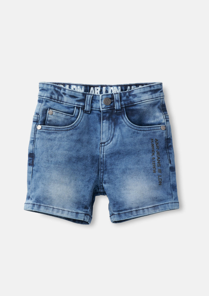 River Fashion Denim Short