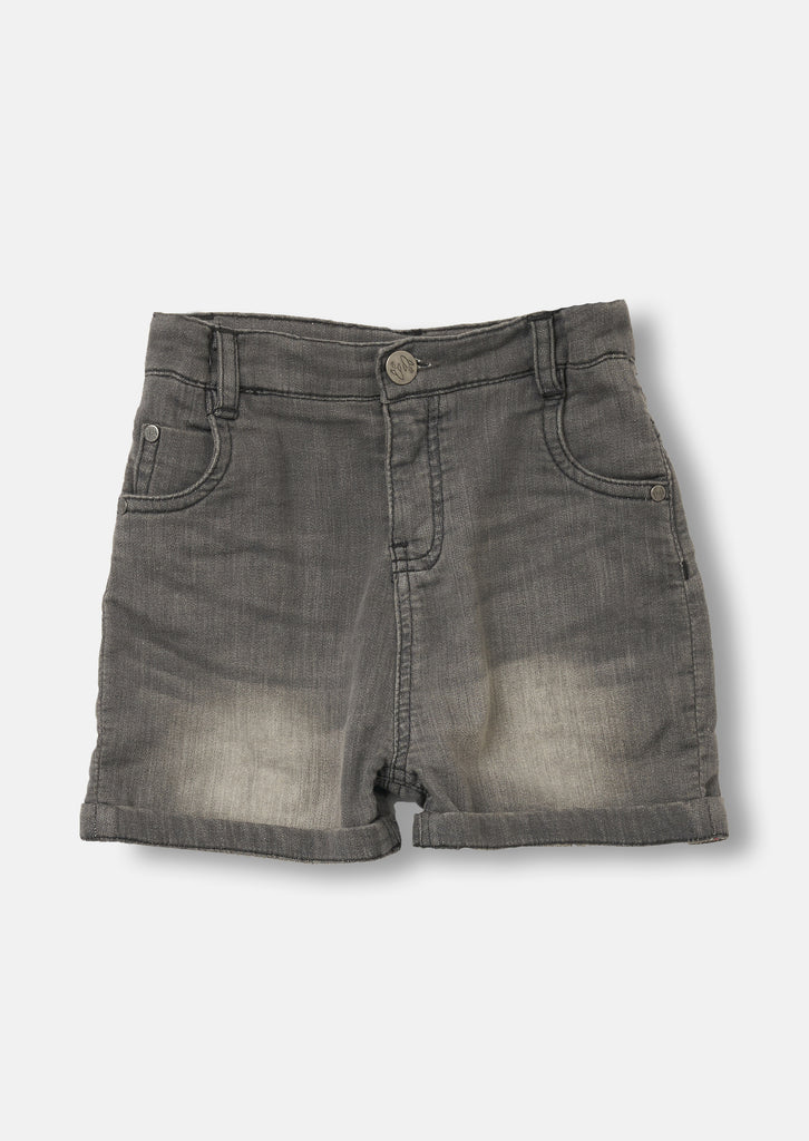 5 Pocket Short Wash Grey