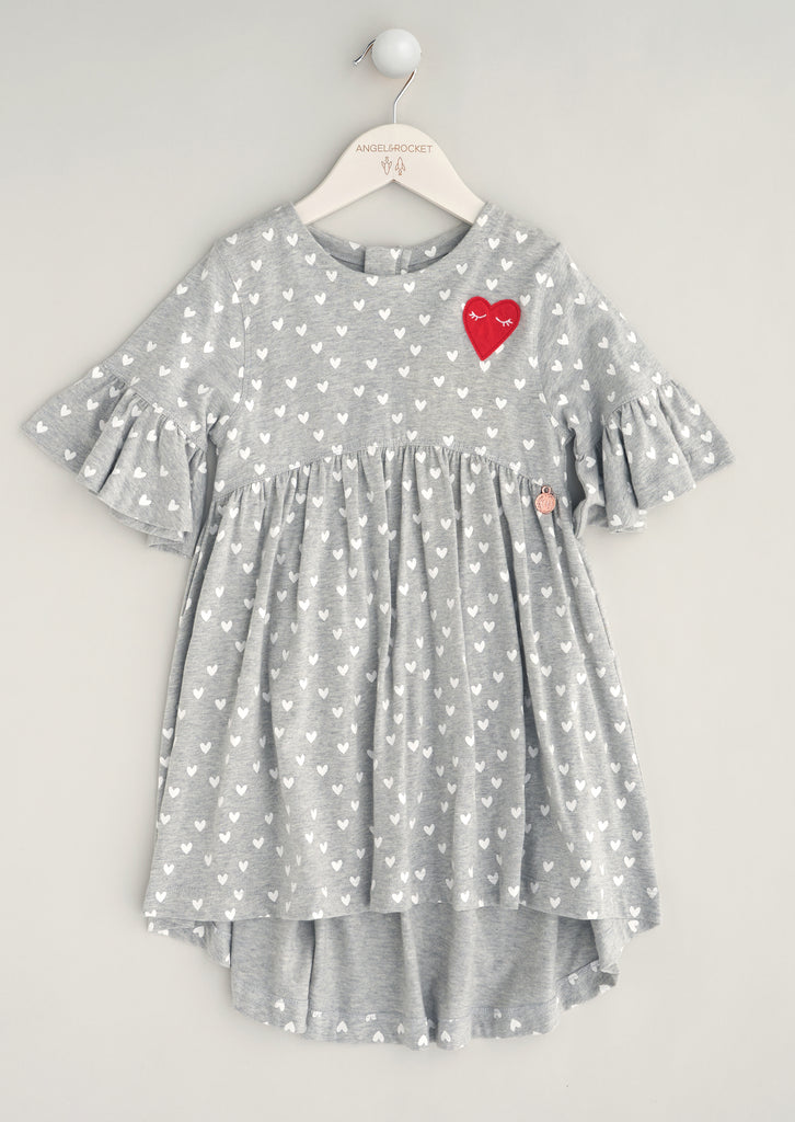 Betsy Heart Jersey Dress
