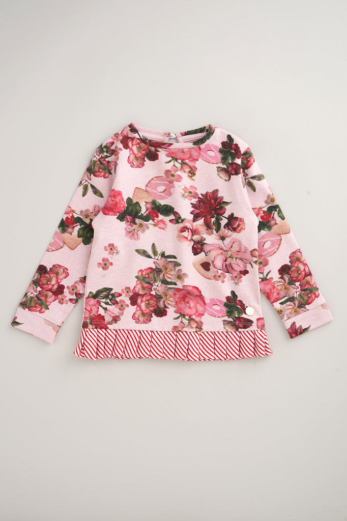 Arla Floral Sweat Top