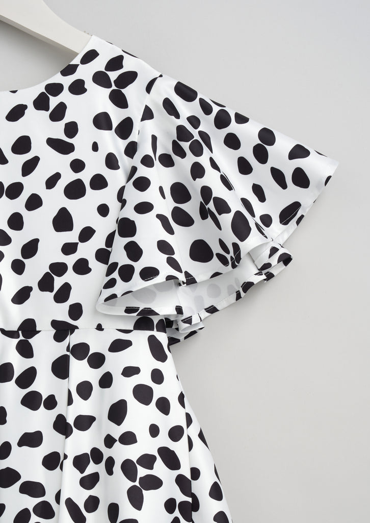 Lulu Dalmation Spot Dress