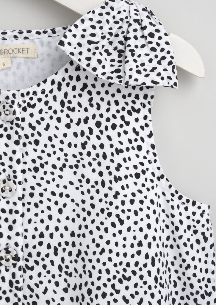 Bonnie Mini Spot Dress