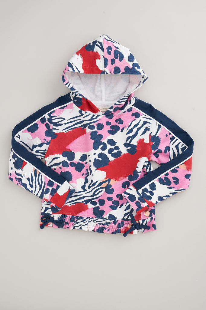 Millie Animal Print Hoody