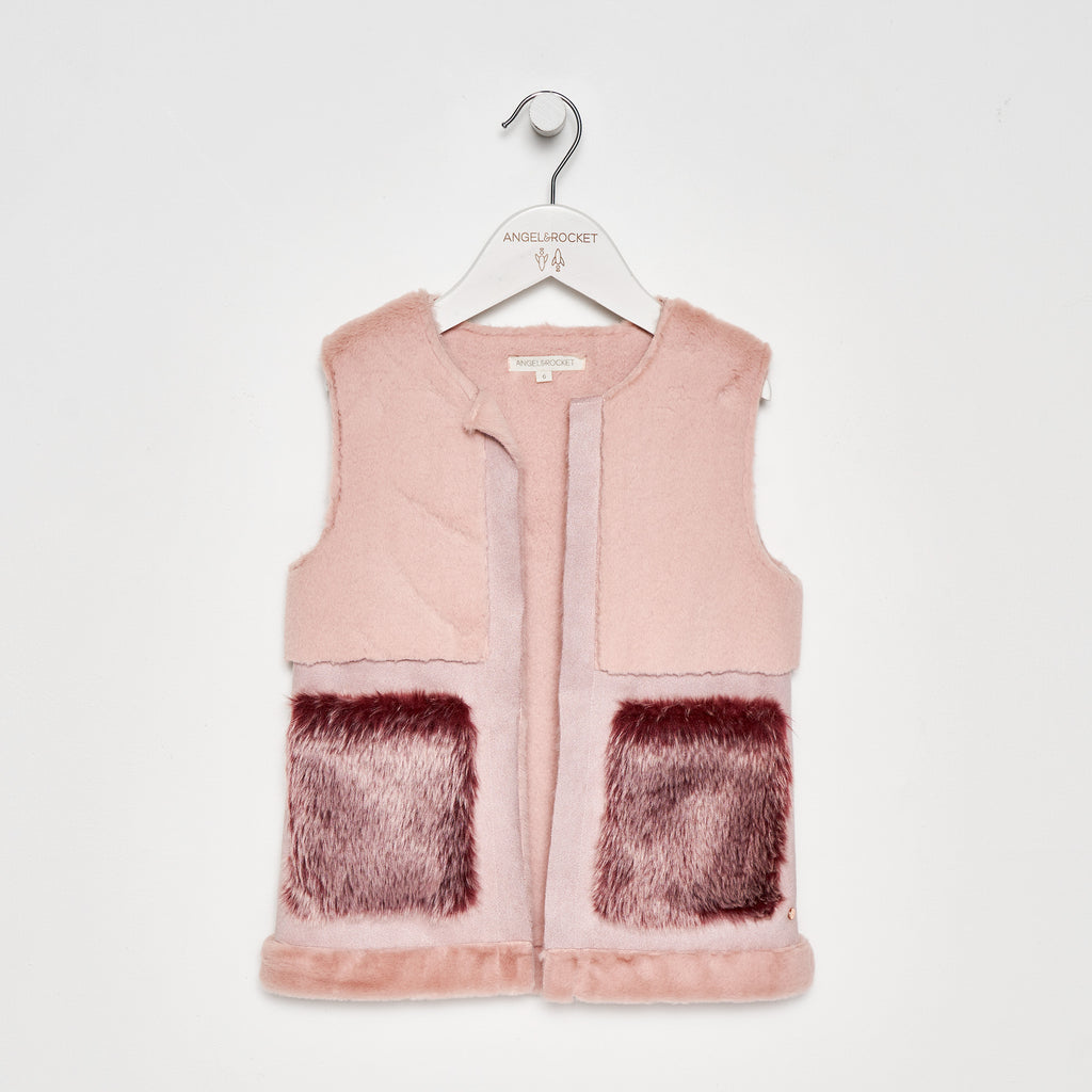 Faux Fur Shearling Gilet