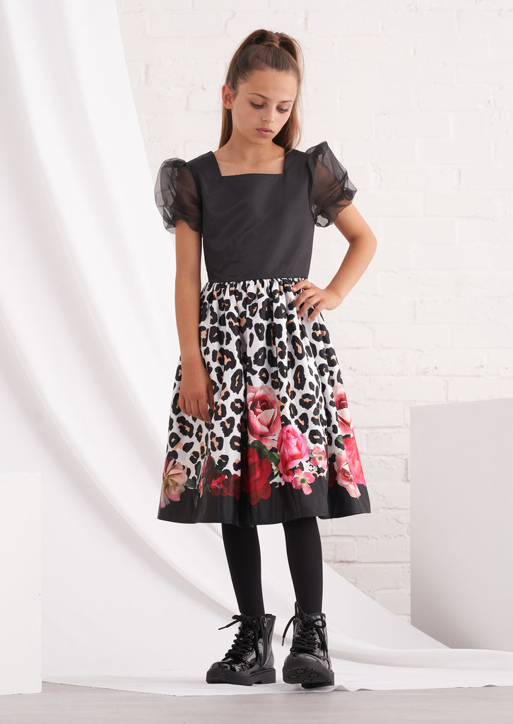 Adele Rose Animal Dress