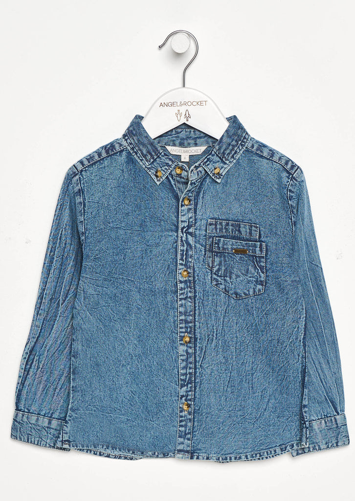 THEO DENIM WASH SHIRT