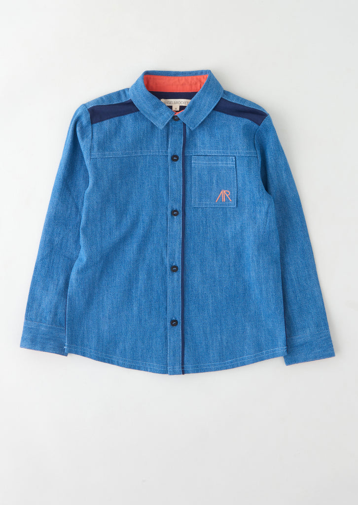 Jonas Chambray Shirt Rocket Back