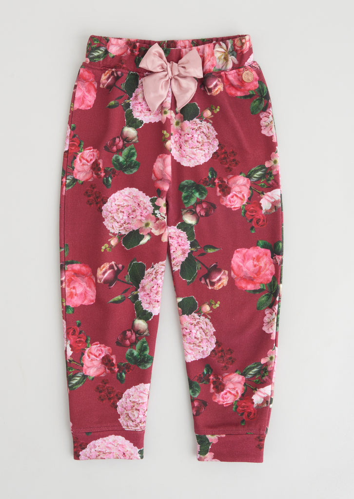 Arla Floral Sweat Bottom