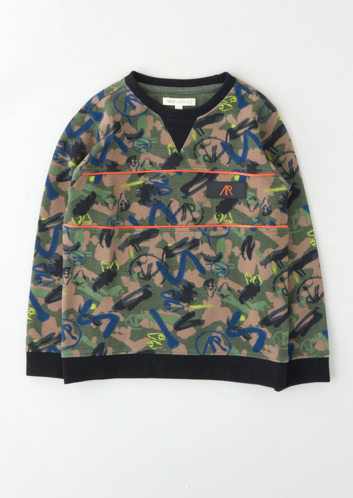 Goose Camoflage Sweat Top