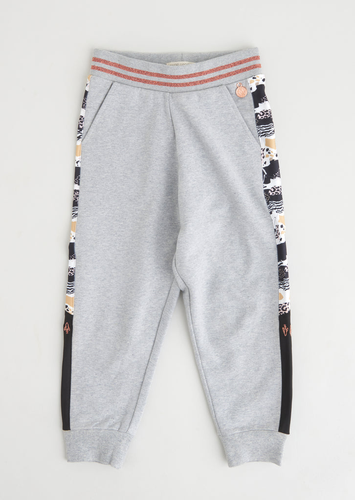 Jodie Printed Side Stripe Jogger