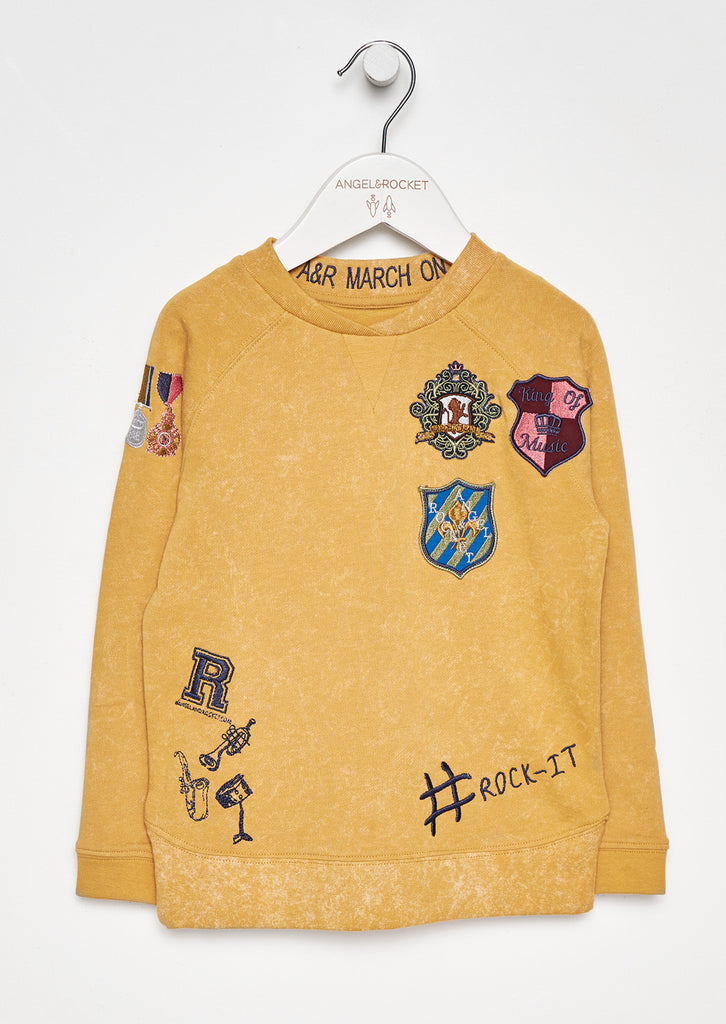 Louie Badge Sweat