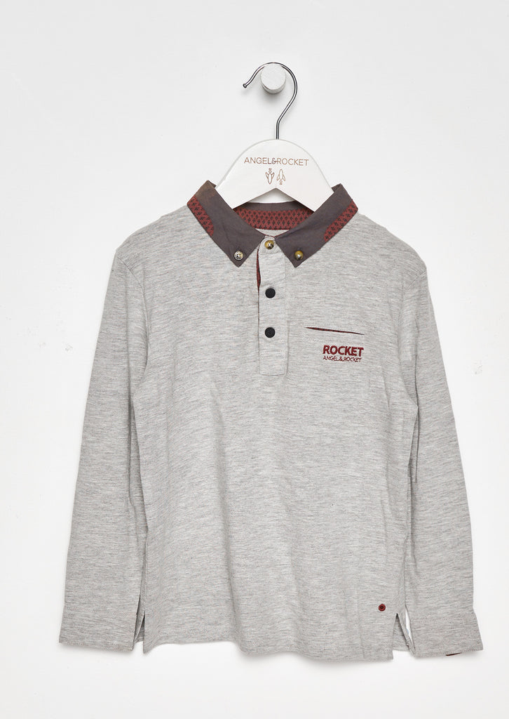 Finn Long Sleeve Polo