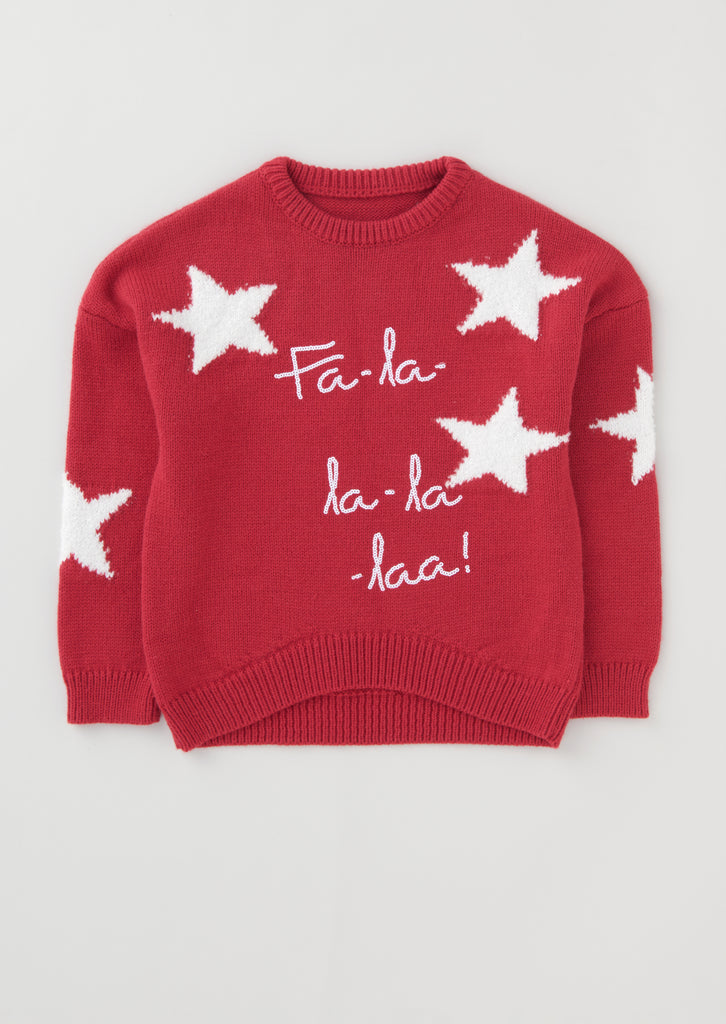 Star Christmas Jumper