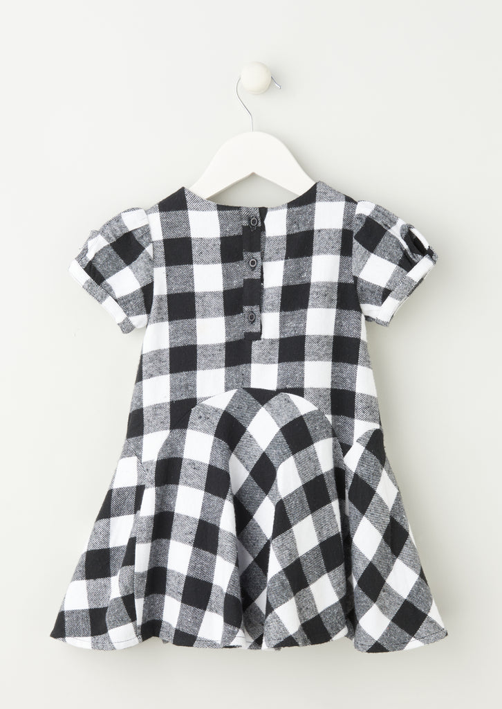 Lois Short Sleeve Godet Dress