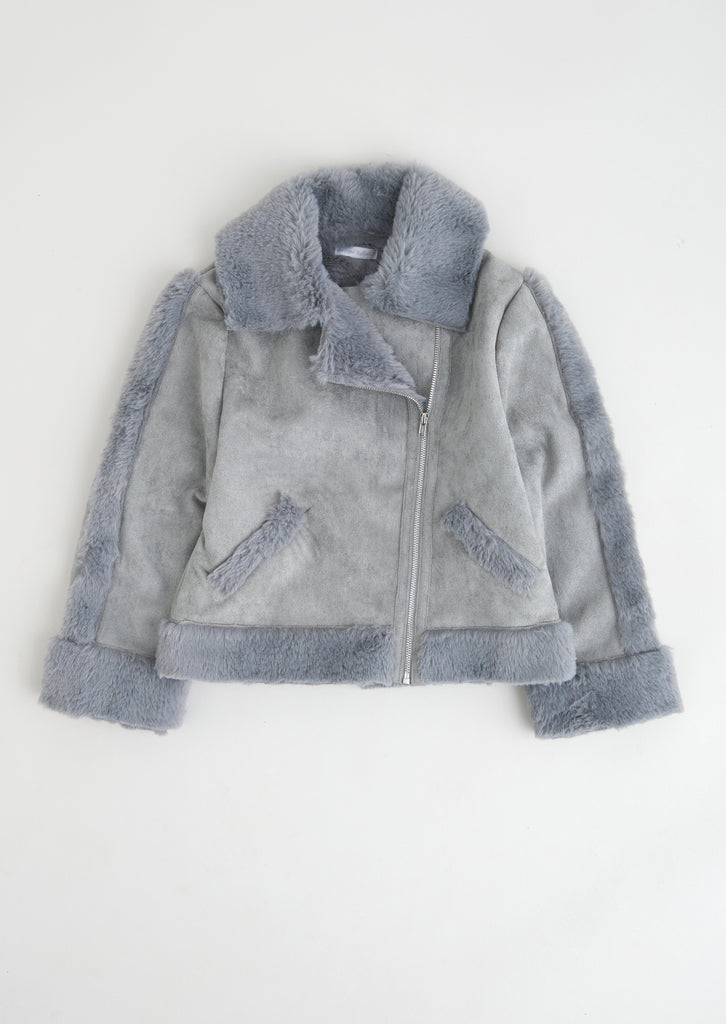 Sadie Shearling Aviator Jacket