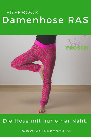 Freebook Damenhose RAS