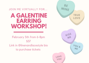 Tickets to Galentine Earring Workshop!
