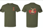 Stiffy's Army Green T-Shirt - Small