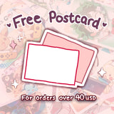 FREE POSTCARD (click for more info)