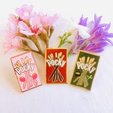 Pocky Enamel Pins 1""