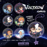 VOLTRON Charms (2 inch Clear Acrylic)