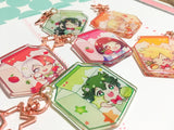 BNHA Milk Charms (2 inch Clear Acrylic)