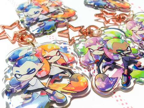 Inkling Charms (2 inch Clear Acrylic)