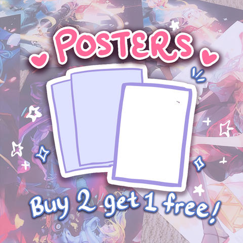 BUY 2 GET 1 FREE POSTERS (click for more info)
