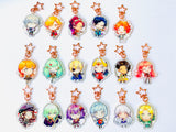 FIRE EMBLEM 3 HOUSES charms (2 inch Clear Acrylic)