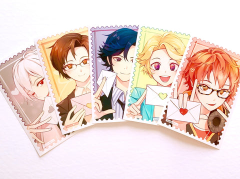 Mystic Messenger Postcard Prints 5pc set (6x4inch)