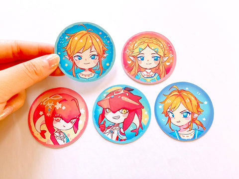 BotW 5 piece Sticker Set [The Legend of Zelda]