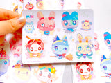 Tamagotchi Sticker Sheets