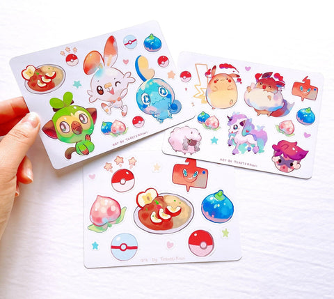 Galar Pokemon Friends Sticker Sheets [Pokemon]