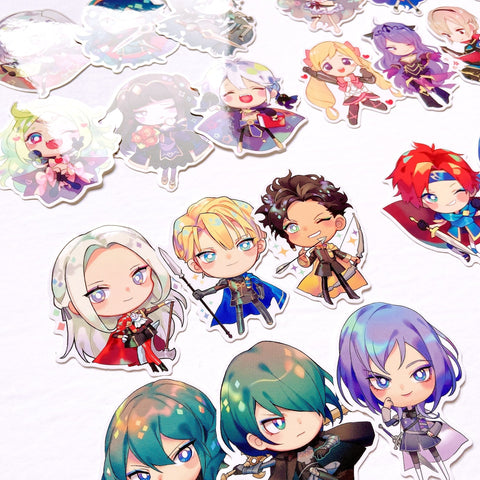 Fire Emblem sticker sets