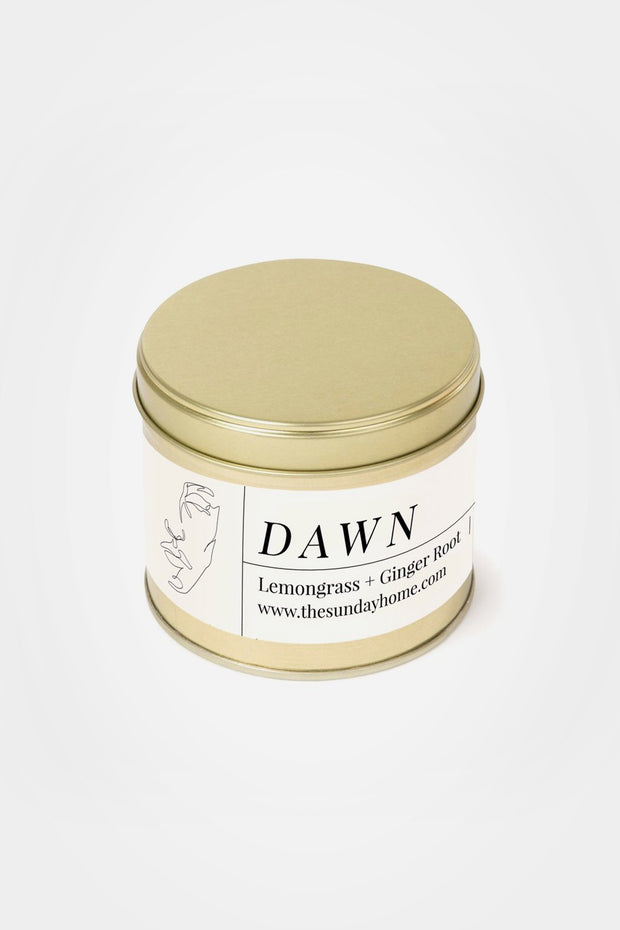 Dawn Gold Candle - The Sunday Home