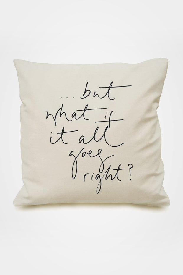 But what if Cushion Cover - Oh Squirrel - The Sunday Home