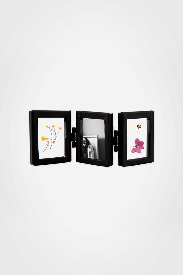 Mini Triple Photo Frame, Black - Sass & Belle - The Sunday Home