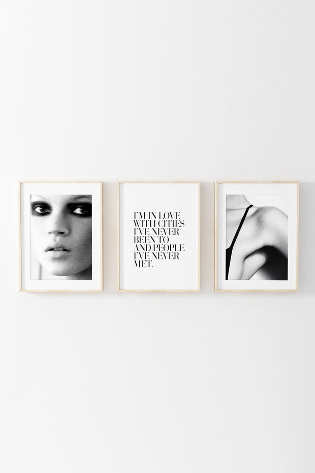 Kate Moss the Boss Print, Honeymoon Hotel - The Sunday Home