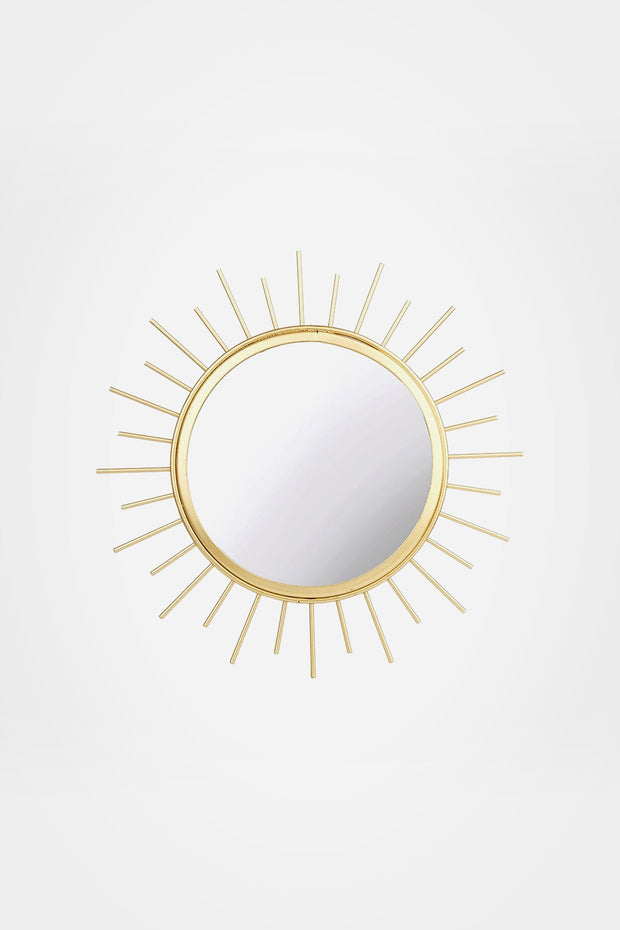 Gold Sunburst Mirror - Sass & Belle - The Sunday Home