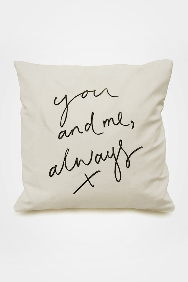 You and Me Always Cushion Cover - Oh Squirrel - The Sunday Home