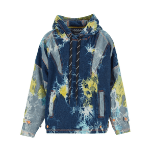 MULTI COLOUR ULTIMATE DENIM HOODIE