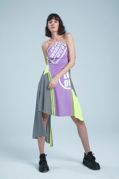 MATRIARCHAL COMPANY LILAC MINI DRESS