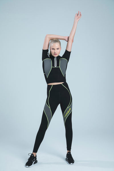 BIBI BLACK ULTRA HIGH WAISTED LEGGINGS